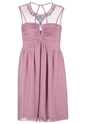 Little Mistress Curvy Cocktail Dress Party Dress Dusty Pink Rose