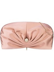 Jimmy Choo Vivien Clutch Pink And Purple