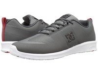 Dc Lynx Lite R Grey Grey Red Skate Shoes Gray