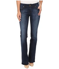 Kut From The Kloth Natalie High Rise Bootcut Jeans In Adaptive W Dark Stone Base Wash Adaptive Dark Stone Base Wash Women's Jeans Blue