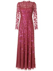 Needle And Thread Rosmund Sequin Embellished Tulle Gown 60