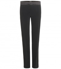 Tom Ford Crepe Tuxedo Trousers Black