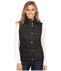 Spyder Vyvyd Synthetic Down Vest Black Denim Fabric Women's Vest