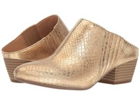 Bcbgeneration Lori Jute Smooth Matte Metallic Python Print Women's Shoes Gold