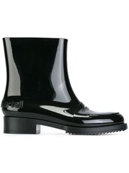 N 21 No21 Ankle Rain Boots Black