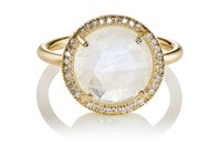 Irene Neuwirth Women's Round Faced Ring No Color