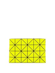 Issey Miyake Bao Bao Lucent Fluorescent Pvc Pouch Yellow