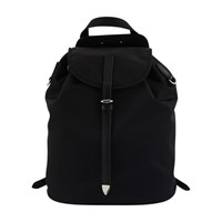 Prada Vela Small Backpack Nero