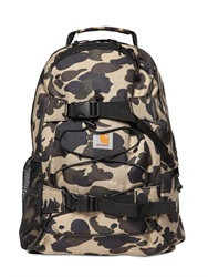 Carhartt 16L Kickflip Camo Printed Nylon Backpack