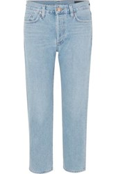 Gold Sign Goldsign The Low Slung Mid Rise Jeans Mid Denim