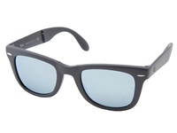 Ray Ban Rb4105 Wayfarer Folding 50Mm Grey Plastic Frame Fashion Sunglasses Gray