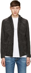 Visvim Black Kobush Shawl Collar Jacket