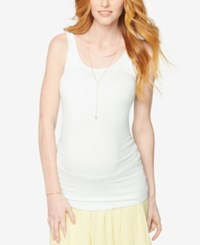 A Pea In The Pod Maternity Tank Top Opal Blue
