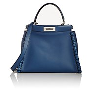 Fendi Women's Peekaboo Satchel Blue