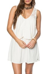 O'neill Women's Jenika Popover Dress Winter White