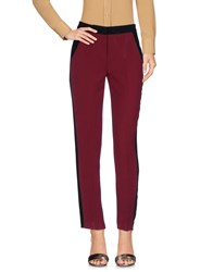 Ki6 Who Are You Trousers Casual Trousers Maroon