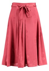 Mintandberry Pleated Skirt Baroque Rose Berry