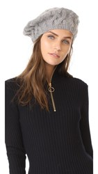 Eugenia Kim Jamie Beret Hat Light Grey