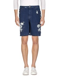 Golden Goose Deluxe Brand Denim Bermudas Blue