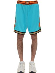 Guess Rokit Tech Basketball Shorts Blue