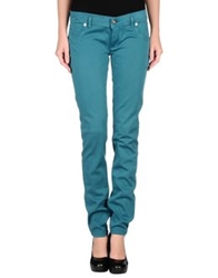 Freesoul Denim Pants Deep Jade
