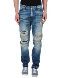 Maison Scotch Denim Denim Trousers Men