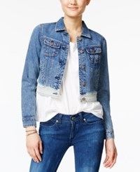 American Rag Dip Dyed Denim Jacket Only At Macy's Rockland Wash