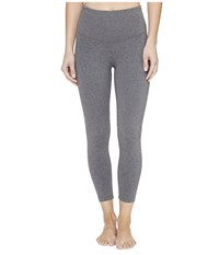 Yummie Tummie Gloria Skimmer Heathered Charcoal Women's Casual Pants Black