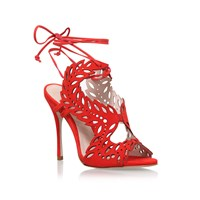 Kurt Geiger Kg Horatio High Heel Sandals Red