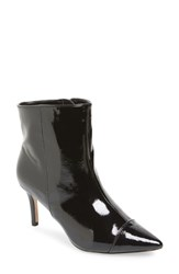 Bcbgmaxazria Bcbg Miriam Pointy Toe Bootie Black Patent Leather