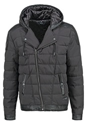 Japan Rags Balboa Winter Jacket Anthracite Melange