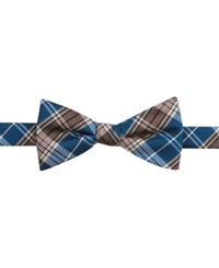 Countess Mara New Traditional Plaid Pre Tied Bow Tie