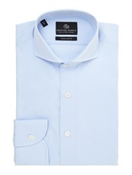 Chester Barrie Richard Shepherd Check Shirt Blue
