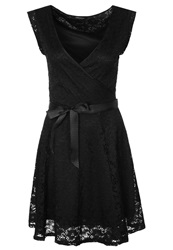 Morgan Rorete Cocktail Dress Party Dress Noir Black