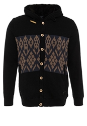 Volcom Impala Ii Hooded Sweater Cardigan Black