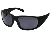 Von Zipper Palooka Polarized Black Satin Wild Vintage Grey Polar Sport Sunglasses Gray