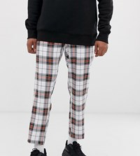 Reclaimed Vintage Checked Casual Trousers Multi