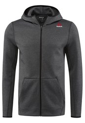 Reebok Tracksuit Top Dark Grey Heather
