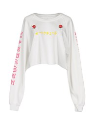 Happiness Sweatshirts White