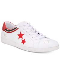 Inc International Concepts I.N.C. Cosmic Patchwork Low Top Sneakers Created For Macy's Shoes White