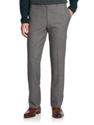Saks Fifth Avenue Wool Trousers Grey