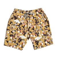 De Islas Ducks Ochre Long Shorts Yellow Orange