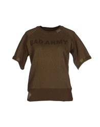 Bad Spirit Sweatshirts Military Green