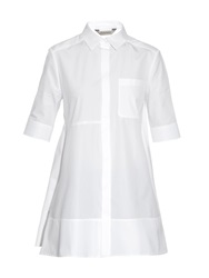 Sportmax A Line Cotton Poplin Shirt