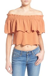 Women's Somedays Lovin 'Bohemia' Off The Shoulder Top