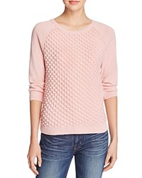 French Connection Audrey Textured Sweater Ballet Blush