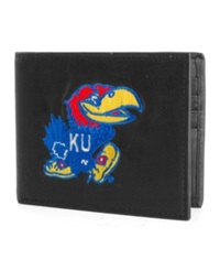 Rico Industries Kansas Jayhawks Bifold Wallet Black