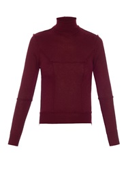 Undercover Roll Neck Seam Detail Sweater