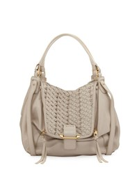 Kooba Jonnie Mini Woven Shopper Bag Gray