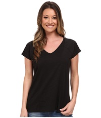 Toadandco Tanager S S Tee Black Women's Short Sleeve Pullover